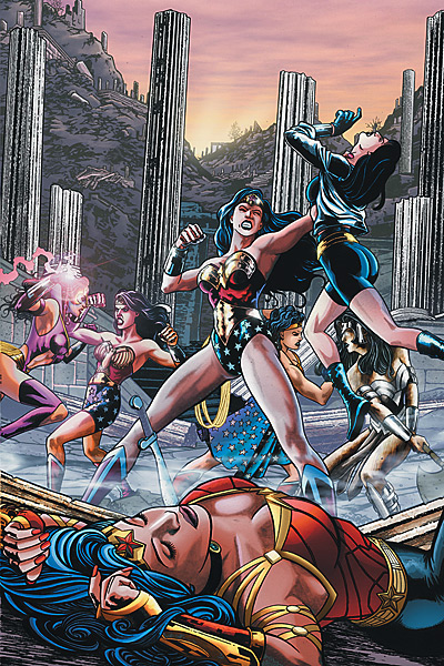 cover to wonder woman 609