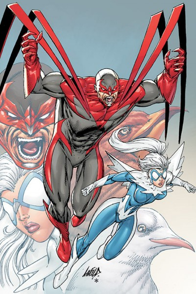 Hawk and Dove by Rob Liefeld